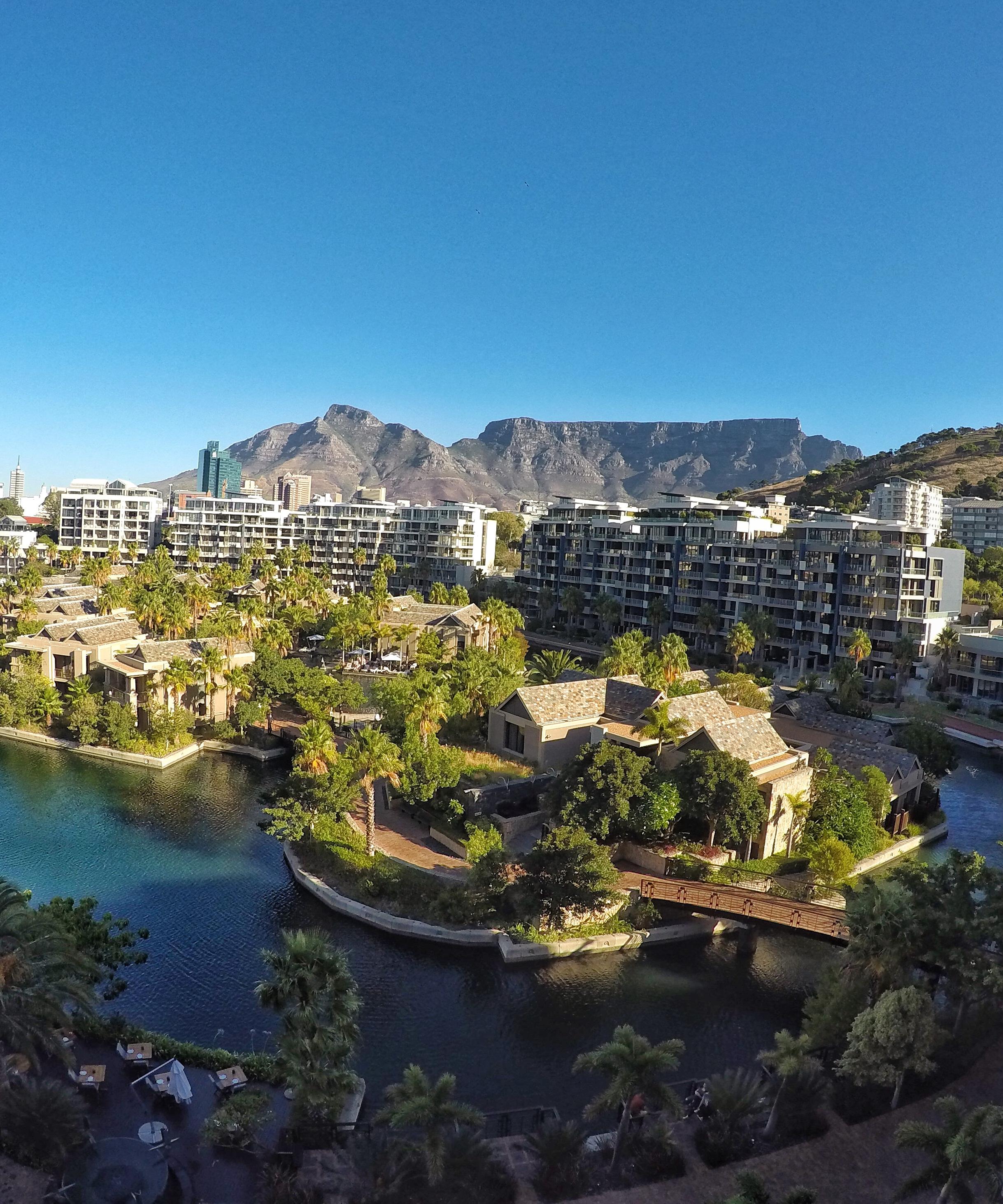 One&Only e a vista para a Table Mountain