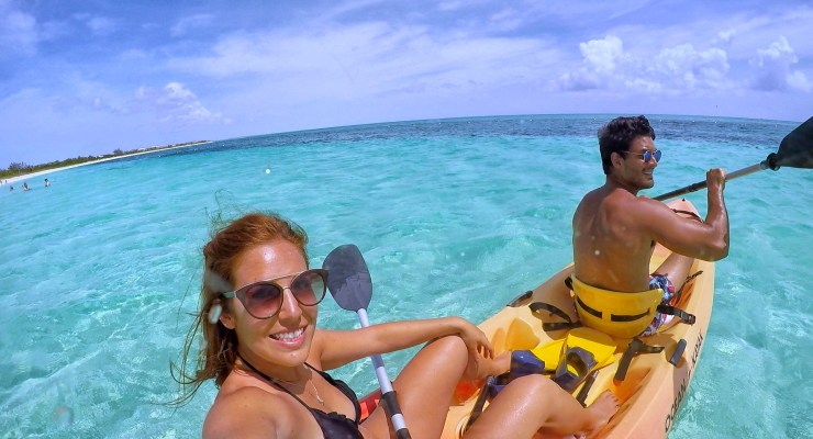 Passeio de Kayak para ver os corais