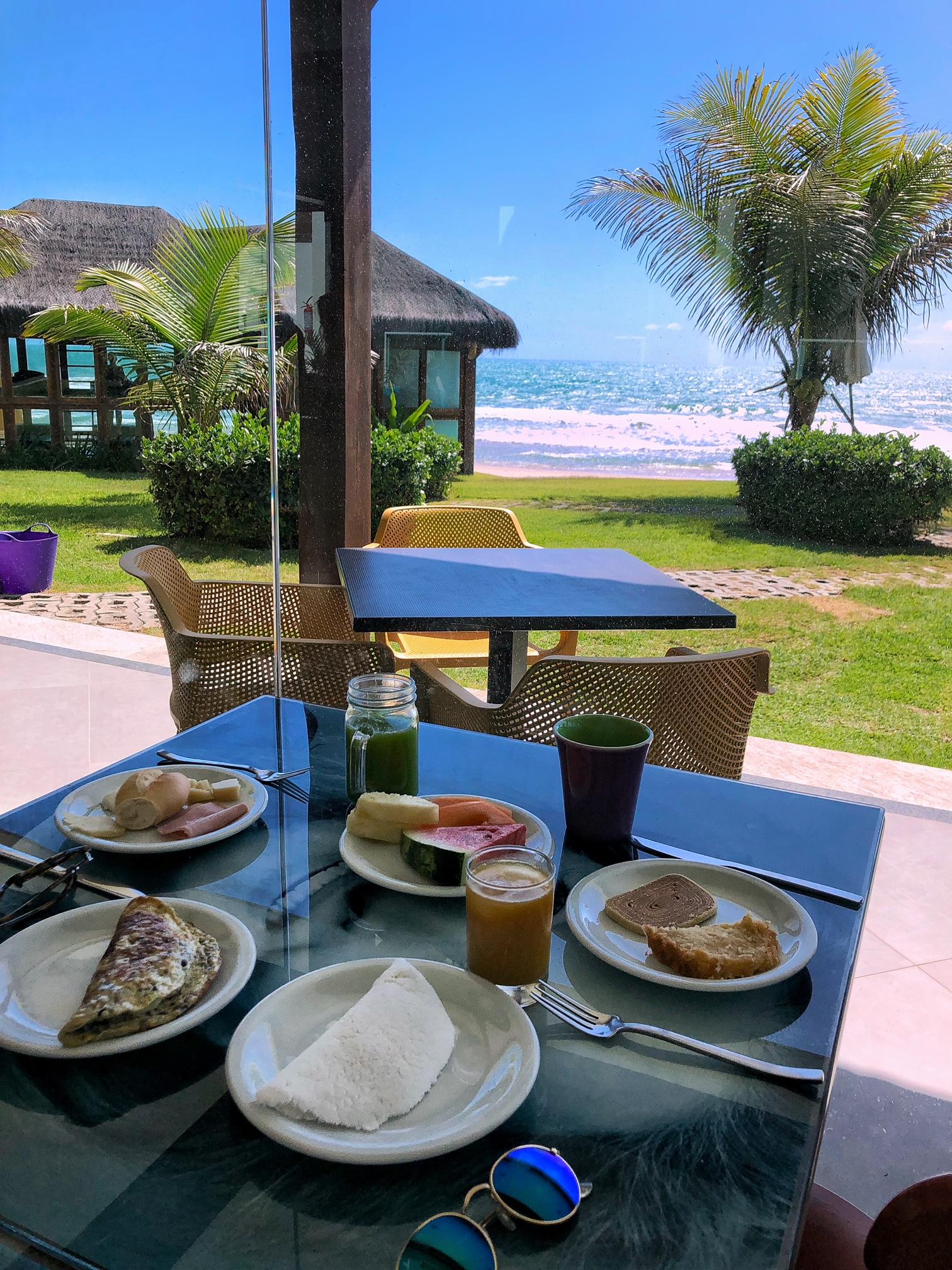 Café da manhã no Kembali