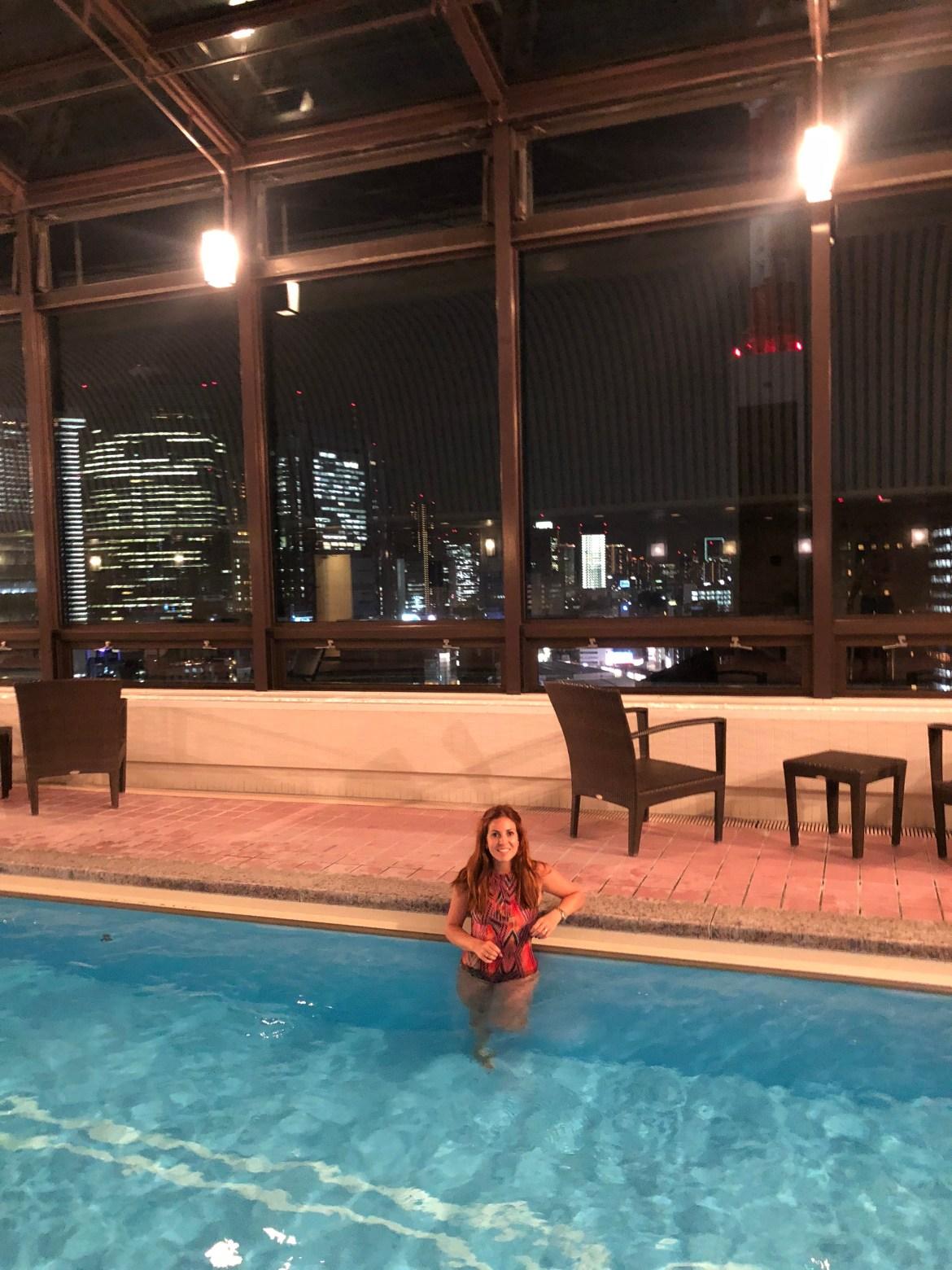 pool imperial Tokyo