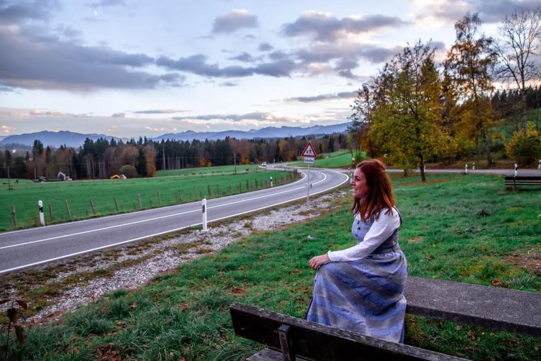 Estrada romântica/Romantische Straße.