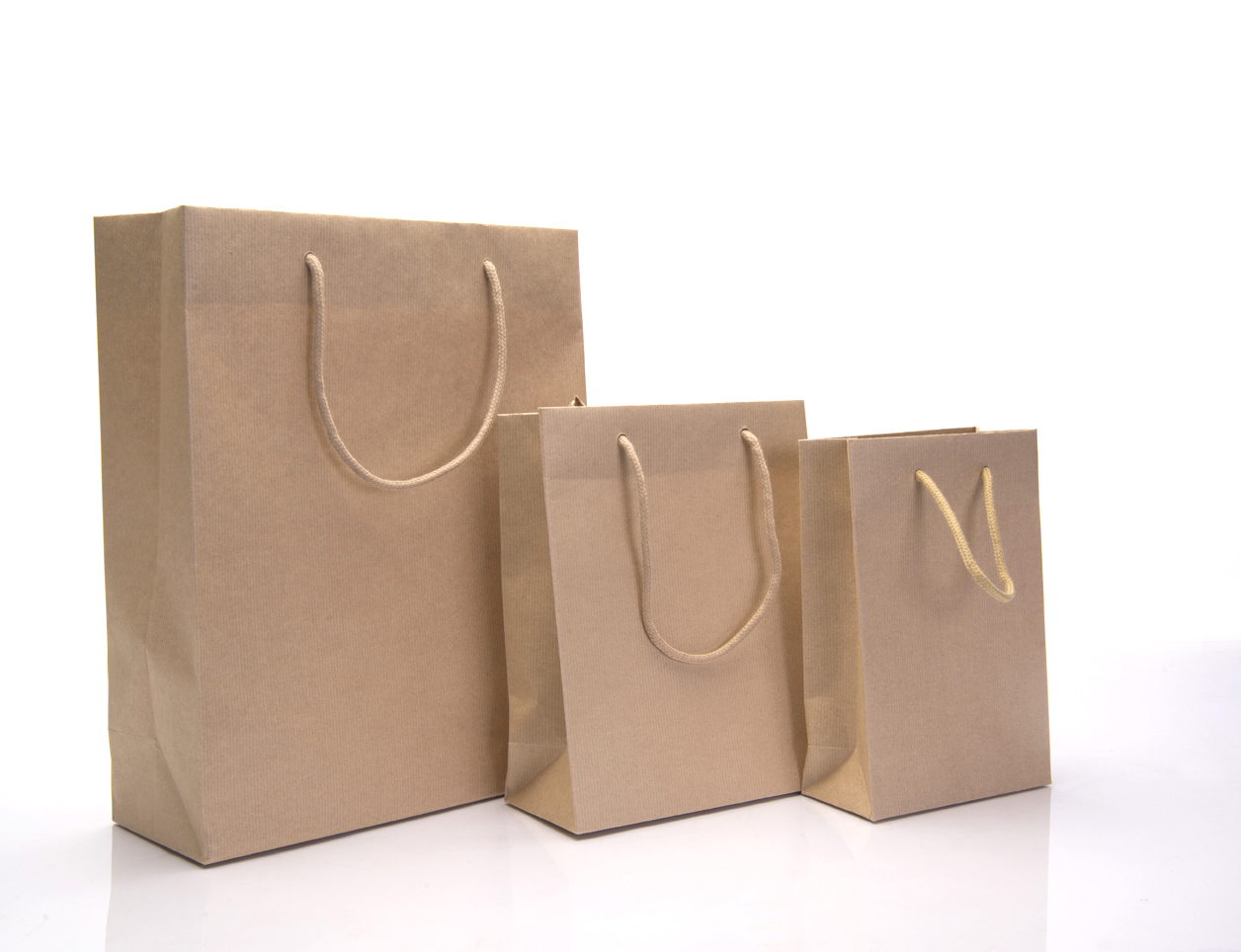 Brown Paper Bags With Handles Kmart Printed Paper Carrier Bags Rope Handle White Brown