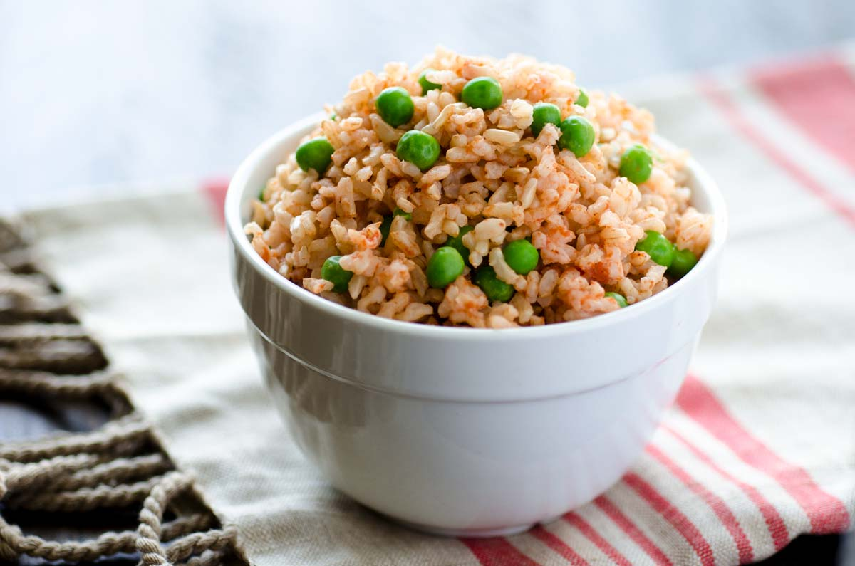 The Perfect Vegan Mexican Brown Rice