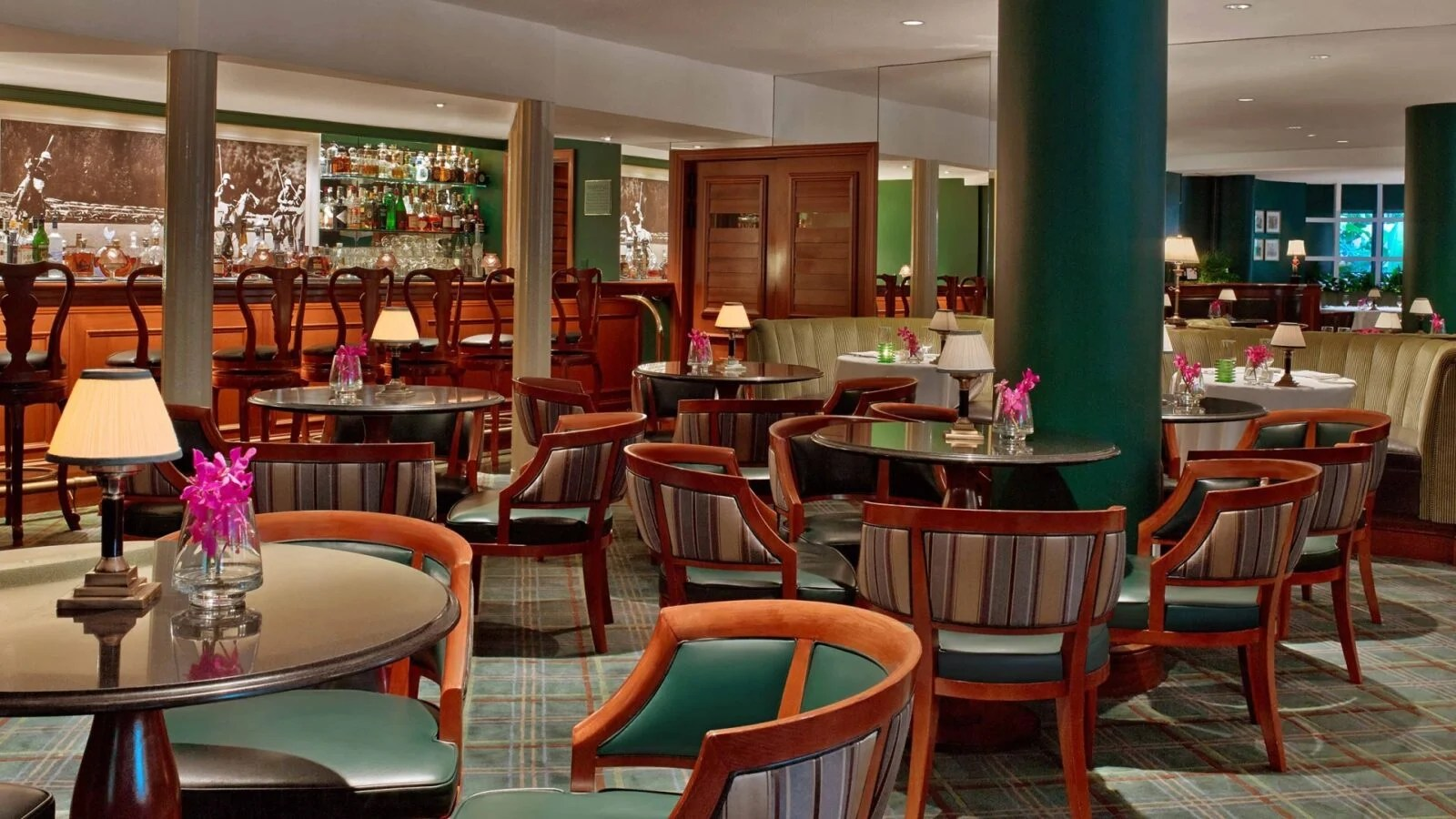 Dining Lounge The Polo Lounge The Beverly Hills Hotel Dorchester Collection