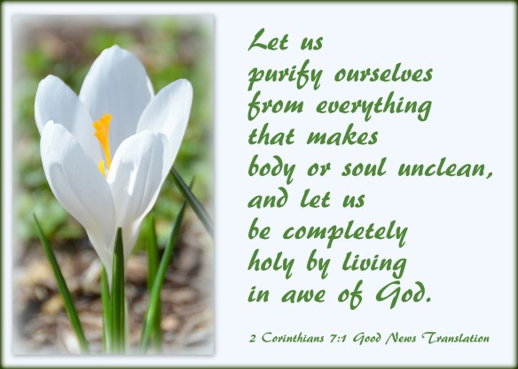 2 Corinthians 7-1