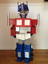 Optimus Prime Costume DIY