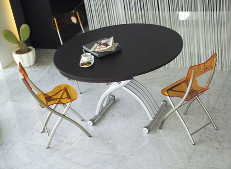 Transforming Tables Convert Coffee To Dining Surfaces