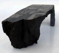 Unique Stone Table Combines Natural Edges & Custom Cuts ...