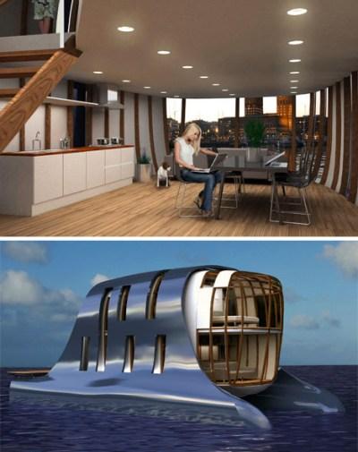 New Urbanism Pontooned or Luxury Houseboat Community?