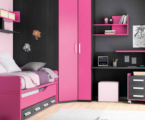 Compact Colorful Kids Room Design Ideas By Kibuc
