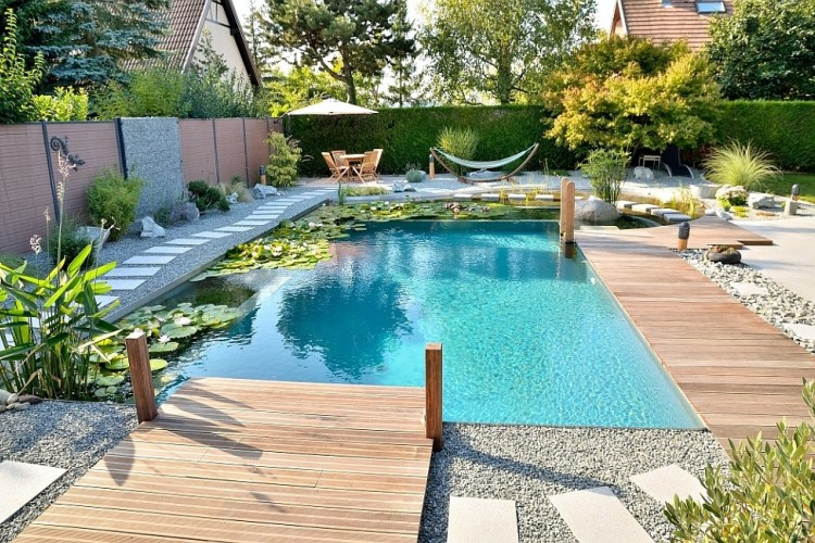 Gartengestaltung Pool Kosten Your Own Private Paradise: Natural Swimming Pools By Biotop