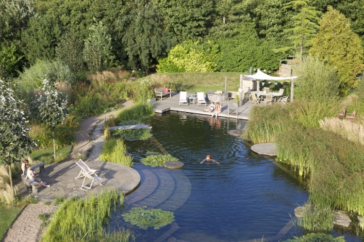 Schwimmingpool Natur Your Own Private Paradise: Natural Swimming Pools By