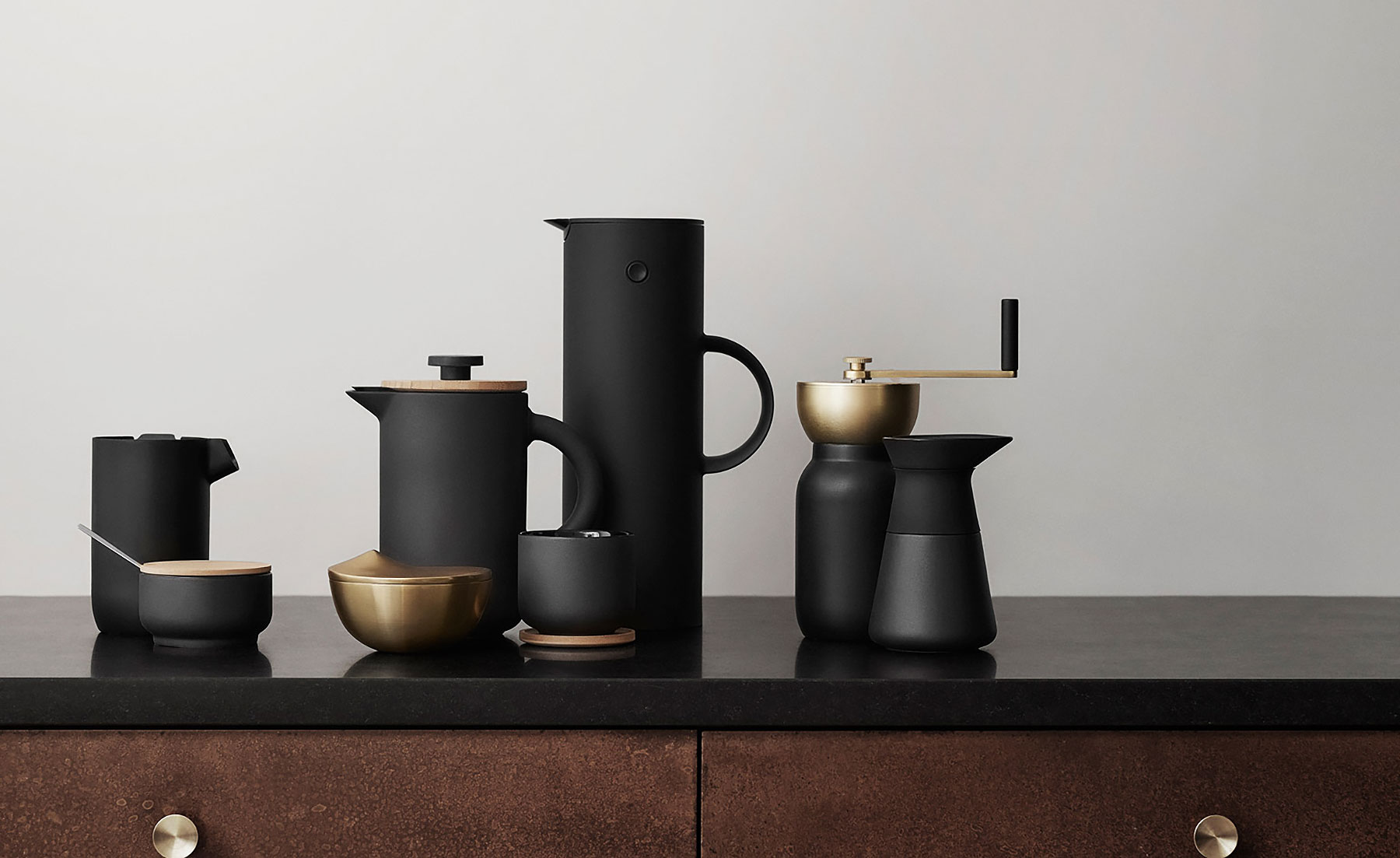 Coffee Art Maker Set Coffee Is The New Black Meet The Sexiest Espresso Set Ever