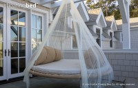 Dream Bed: Hammocks Meet Round Mattresses in This Hanging ...