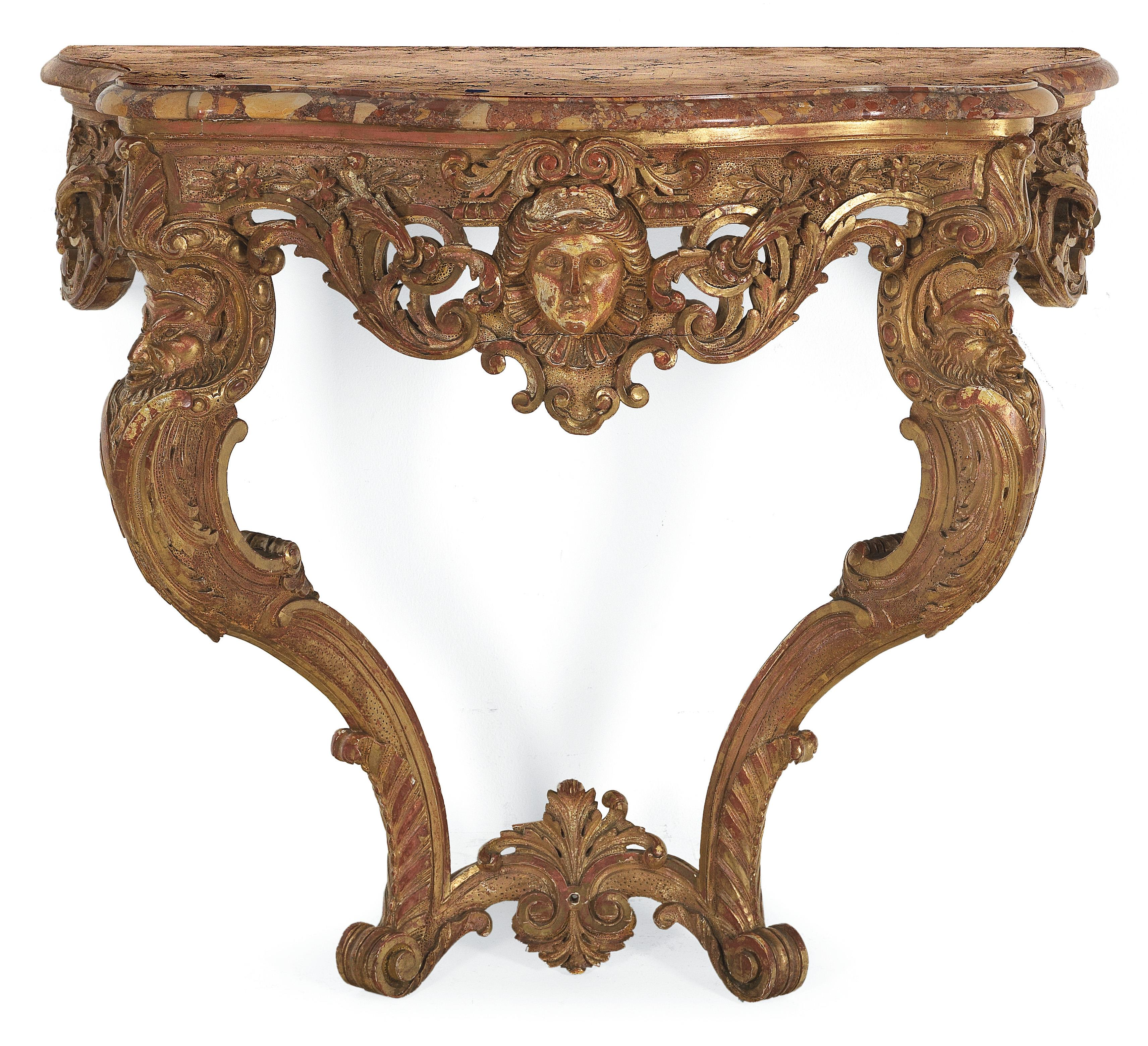 French Louis Xv Revival Console Table Works Of Art 2017 10 18 Realized Price Eur 4 500 Dorotheum