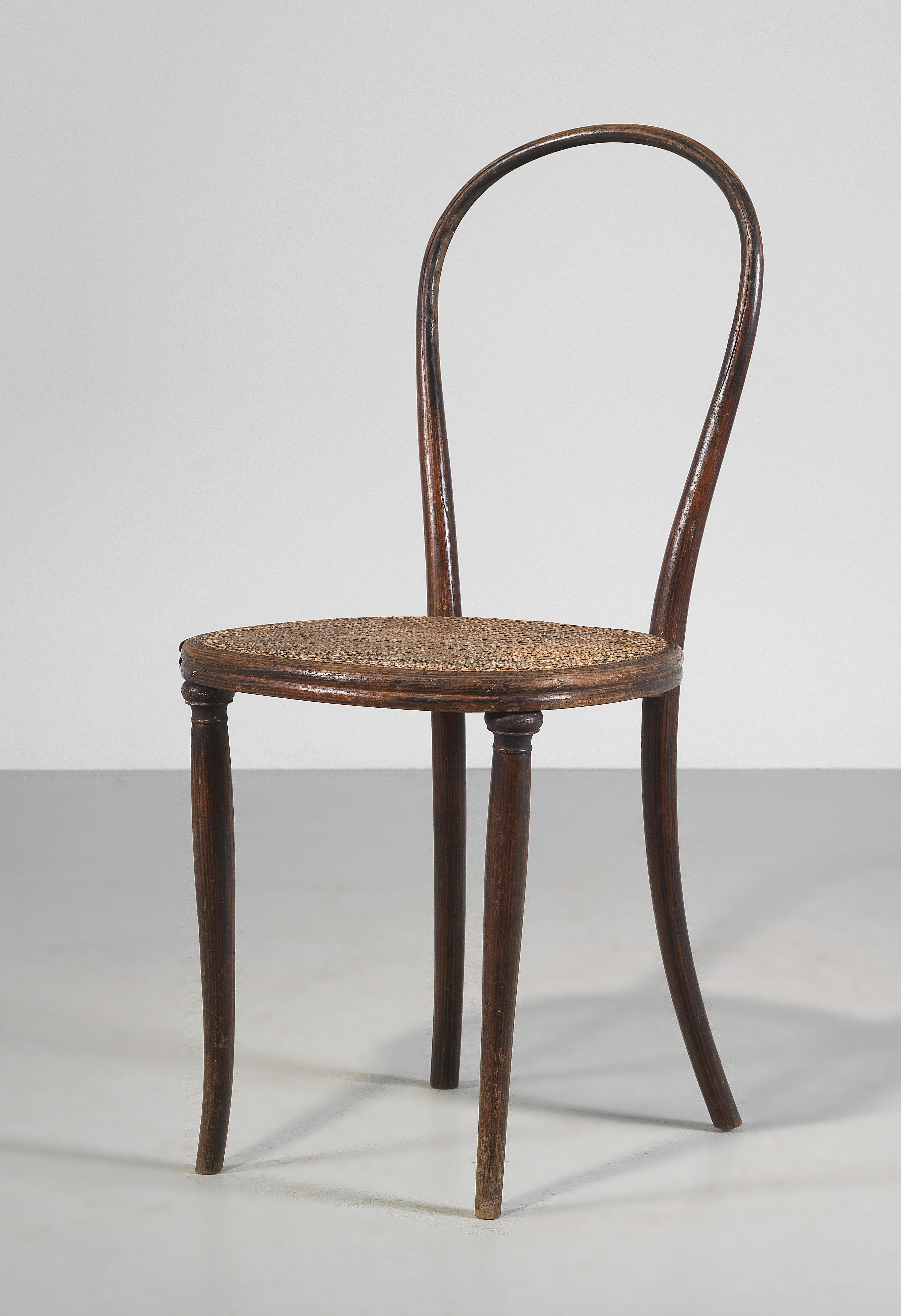 Thonet Michael An Early Variant Of Chair Mod No 14 Designed By Michael