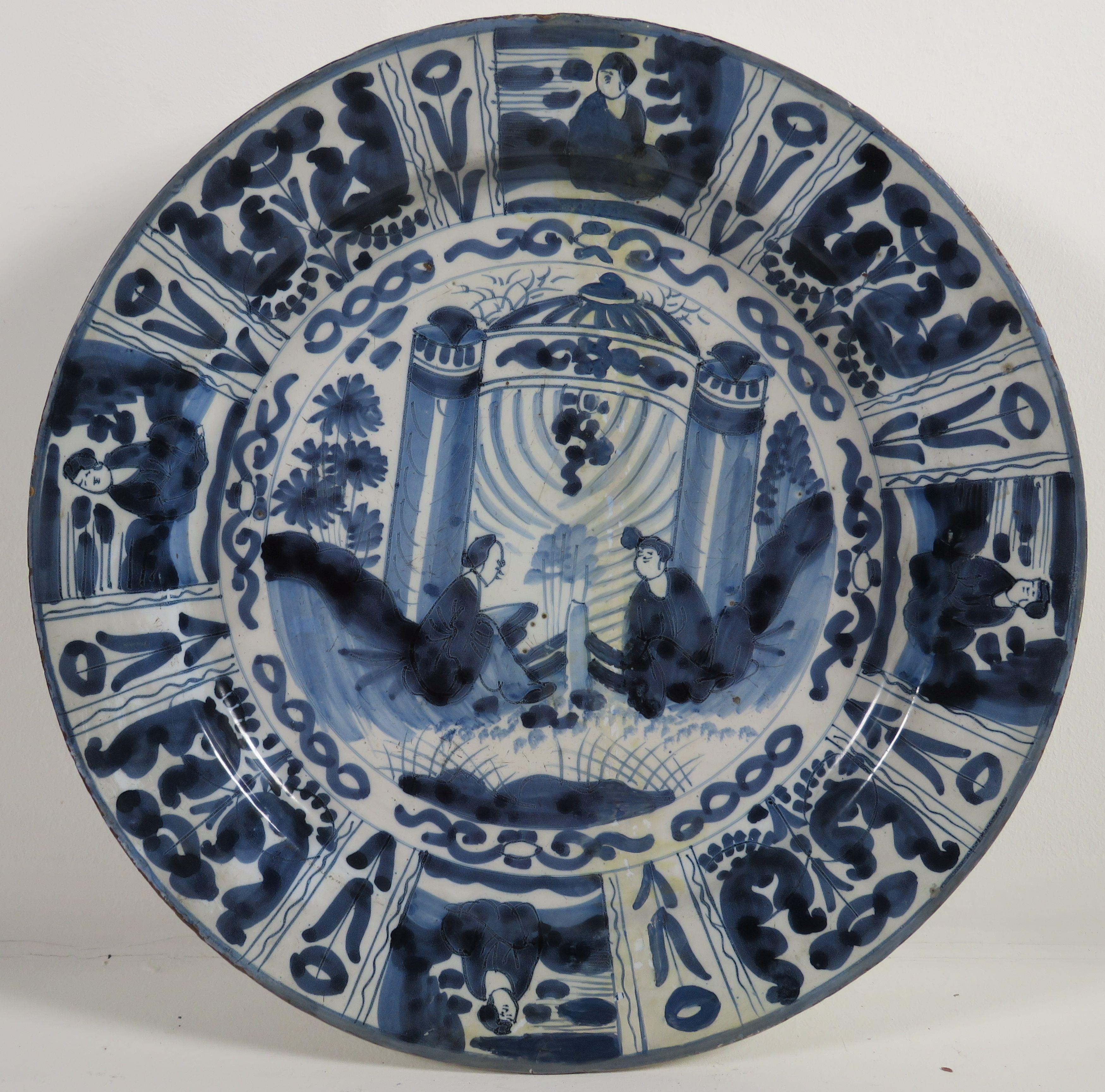 Blau Weiß Teller Delft 18 Jahrhundert Jewellery Antiques And Art 2018 02 15 Realized Price Eur 85 Dorotheum