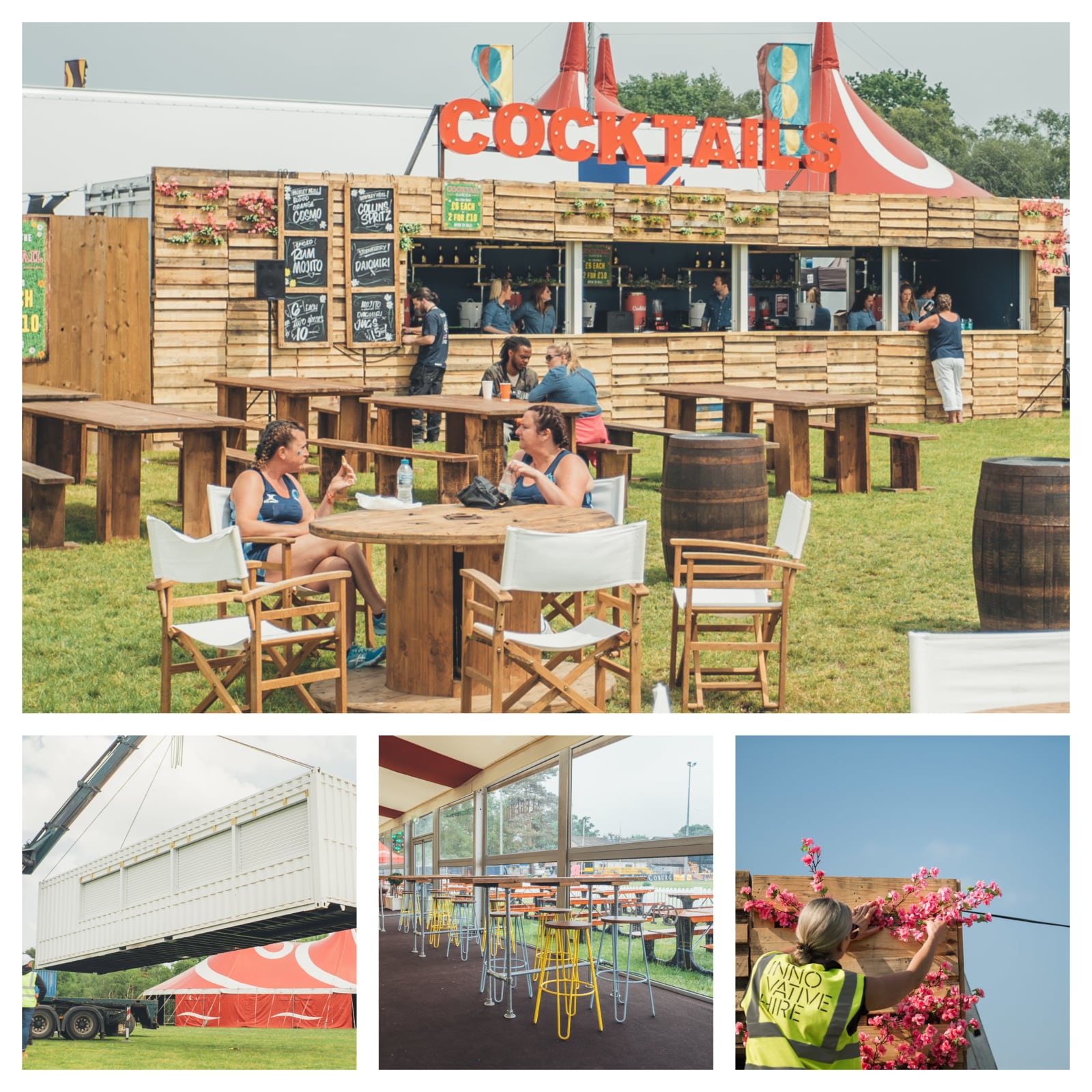 Innovative Hire Awarded Bar And Furniture Contract At Bournemouth 7s Festival 2018 Dorset Chamber Of Commerce And Industry