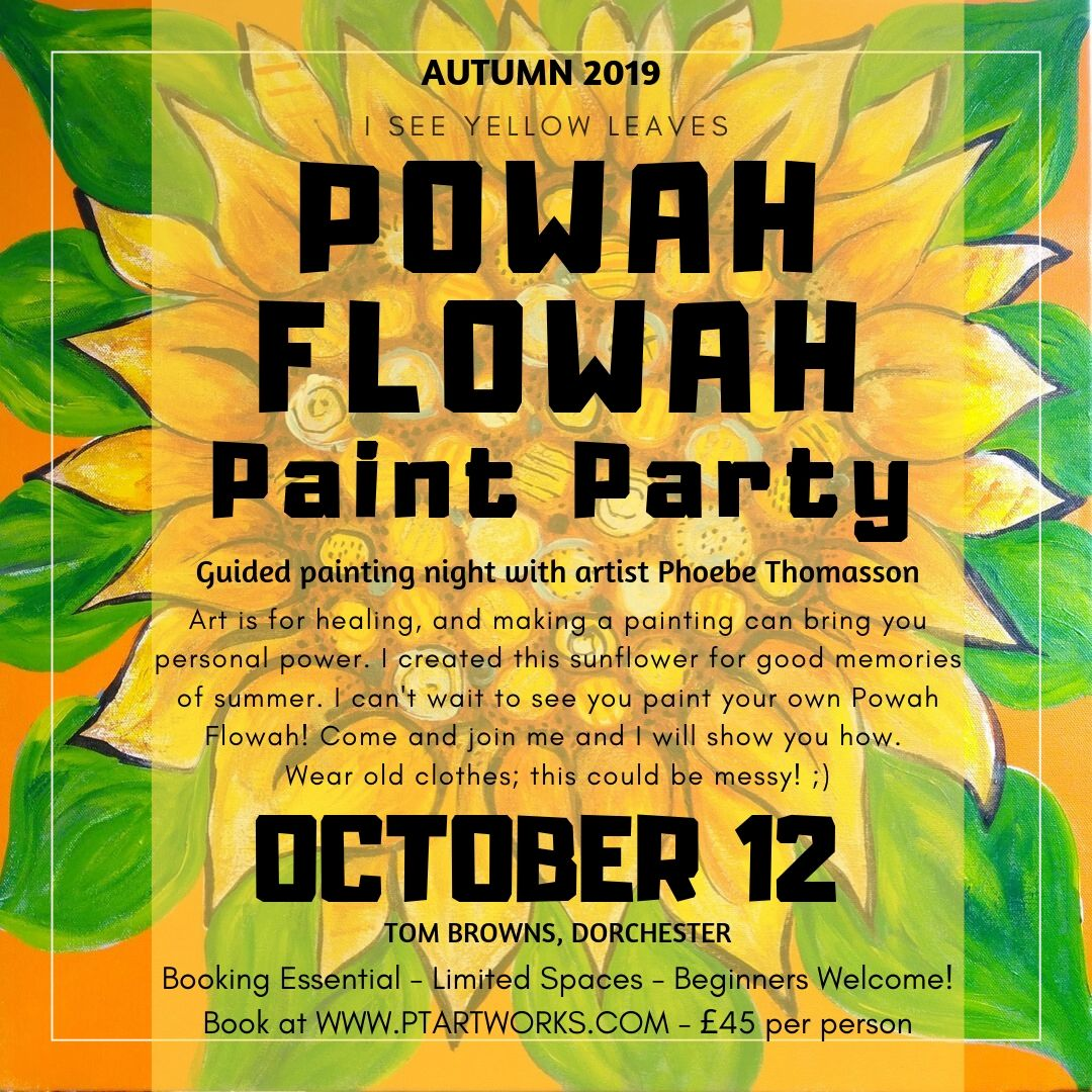 You Can Book Me Ltd Phoebe S Painting Powah Party On 12 October At 19 00