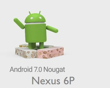 Nougat Nexus 6p