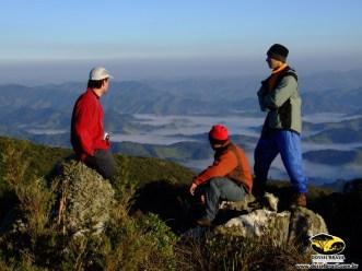 Amanhecer na Montanha