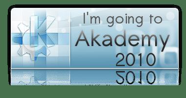 I'm going to Akademy