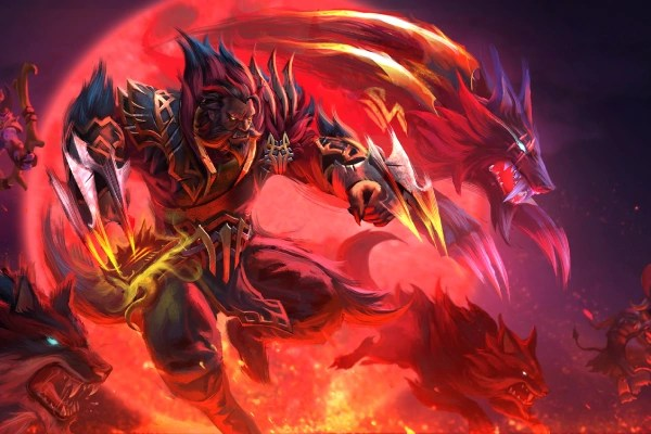 Fall Be Kind Wallpaper Mark Of The Blood Moon Dota 2 Wiki