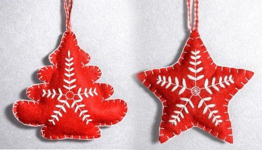 make felt christmas decorations - Rainforest Islands Ferry - felt christmas decorations