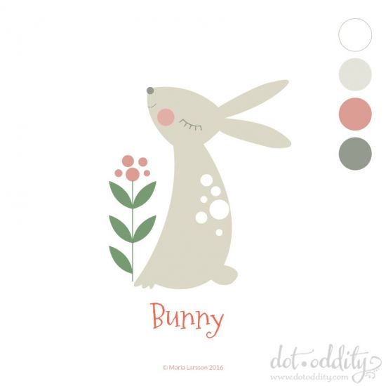Bunny by Maria Larsson