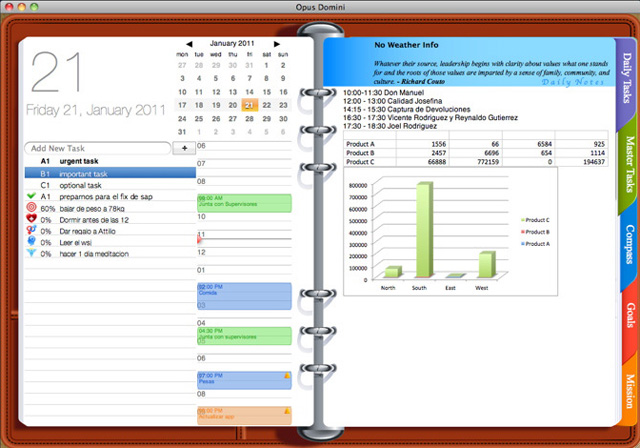 Calendar App Laptop Macos What Is Macos Apple Get Yourself Organized With Opus Domini A Desktop