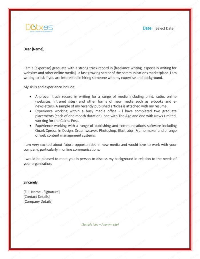 sample letter to clients