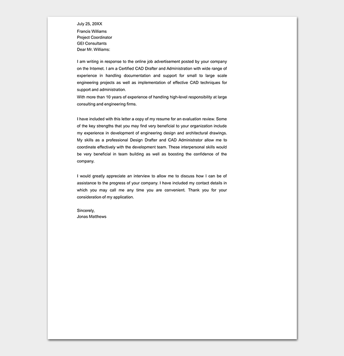 relocation cover letter samples for resume