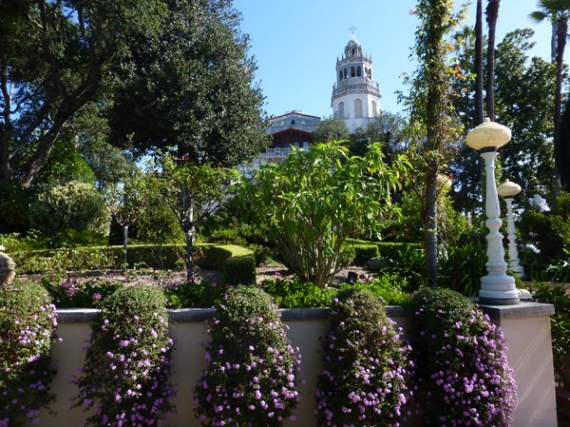 The grounds at Hearst Castle
