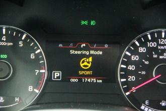 2014 Kia Forté SX Sedan steering modes