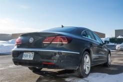 2014 Volkswagen CC 2.0T rear 1/4