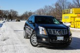 2014 Cadillac SRX front 1/4