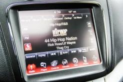 2014 Dodge Journey R/T touchscreen