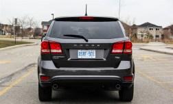 2014 Dodge Journey R/T rear
