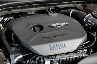 2014 Mini Cooper 3-cylinder motor