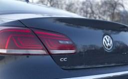 2014 Volkswagen CC 2.0T rear decklid