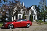 2014 Buick Regal GS side profile