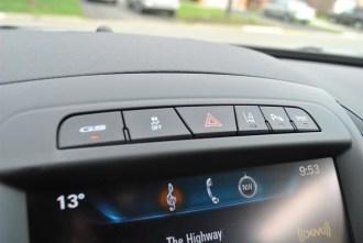 2014 Buick Regal GS controls