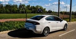 2014 Dodge Dart SXT rear 1/4