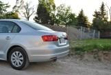 2014 Volkswagen Jetta TDI rear half