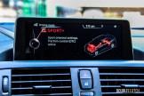 2014 BMW M235i Sport+ display
