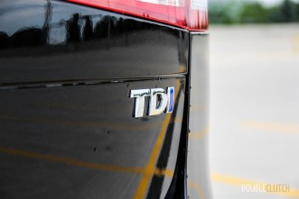 2014 Volkswagen Touareg TDI rear badge