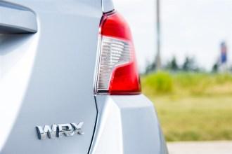 2015 Subaru WRX Sport-Tech rear emblems