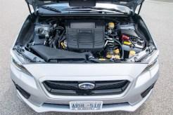 2015 Subaru WRX Sport-Tech engine bay