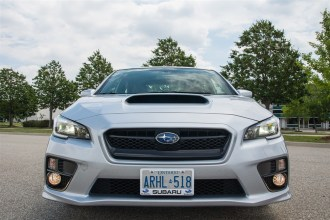 2015 Subaru WRX Sport-Tech front end