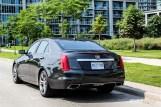 2014 Cadillac CTS Vsport rear 1/4